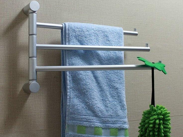 Вешалка сушилка для полотенец в ванную