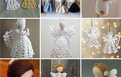 Ангел крючком: простые и красивые схемы вязания рождественских ангелочков