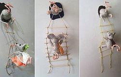 Мышки-воришки магнит на холодильник своими руками: мастер-класс по вязанию