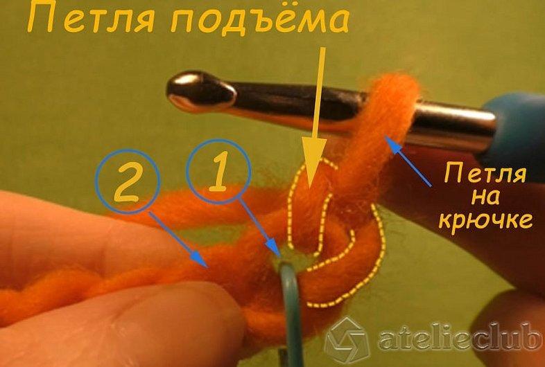 Полустолбик с накидом крючком