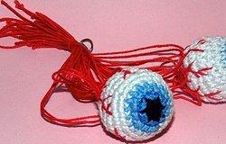 Как связать глаза крючком для игрушки: мастер-класс с описанием
