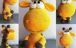 Жираф крючком: как связать игрушку начинающему, пошаговый мастер-класс