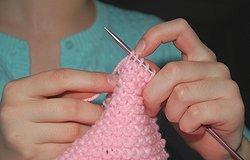 Несложные узоры спицами для детских вещей