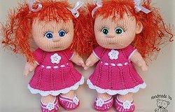 Как связать куклу спицами: описание работы для начинающих с пошаговыми схемами