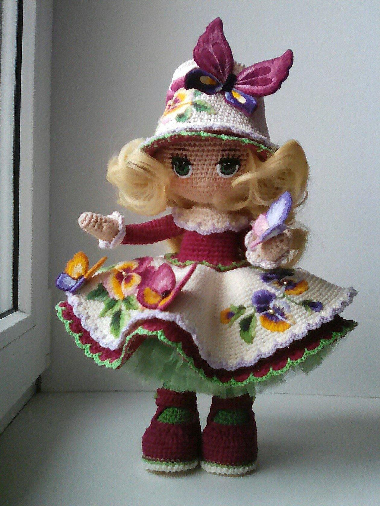 Амигуруми куколки ольги архиповой