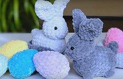 Кролик крючком: как связать игрушку начинающим рукодельницам, описание