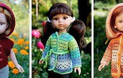 Кофта для куклы крючком: как связать свитер для пупса, варианты моделей