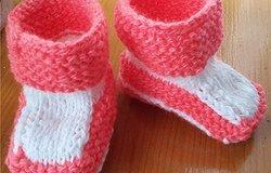 Как связать пинетки для куклы крючком, а также сапоги, туфли, ботиночки