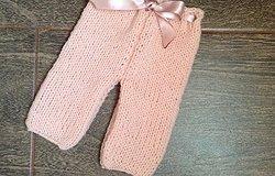 Как связать штанишки для куклы спицами пошагово: материалы, схема вязания