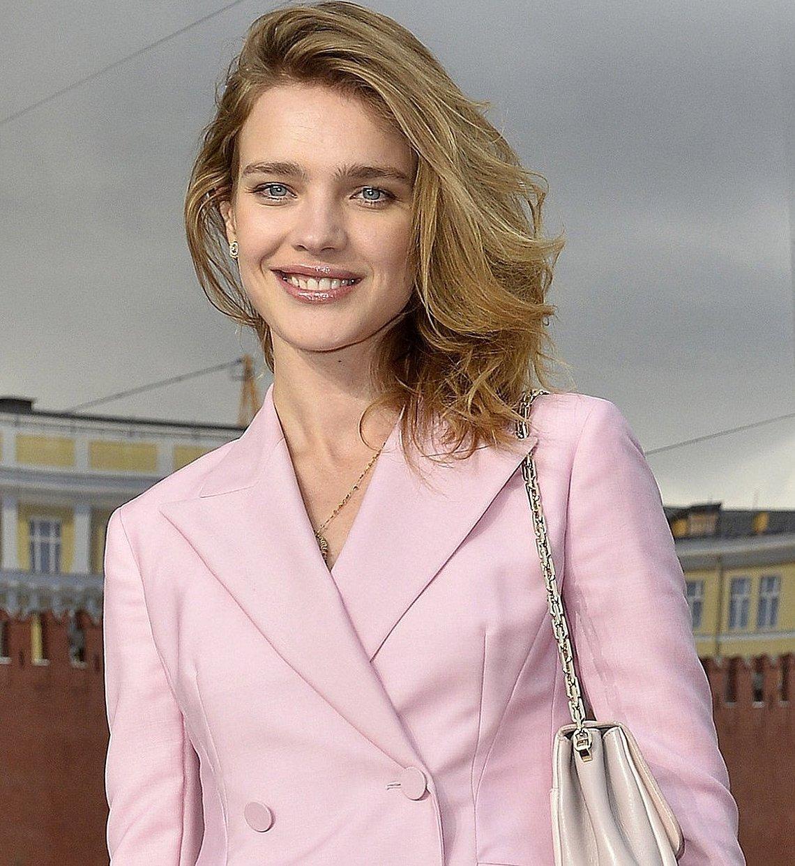 Наталья водянова улыбка