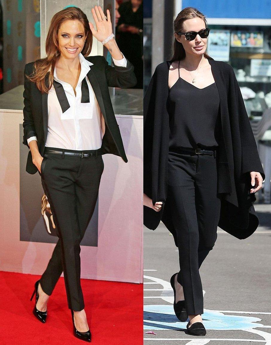 Анджелина джоли стиль в одежде